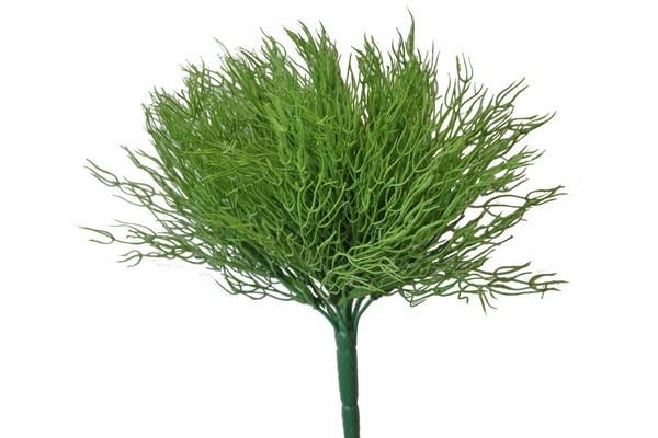 Coral Busch grün ca. 28cm